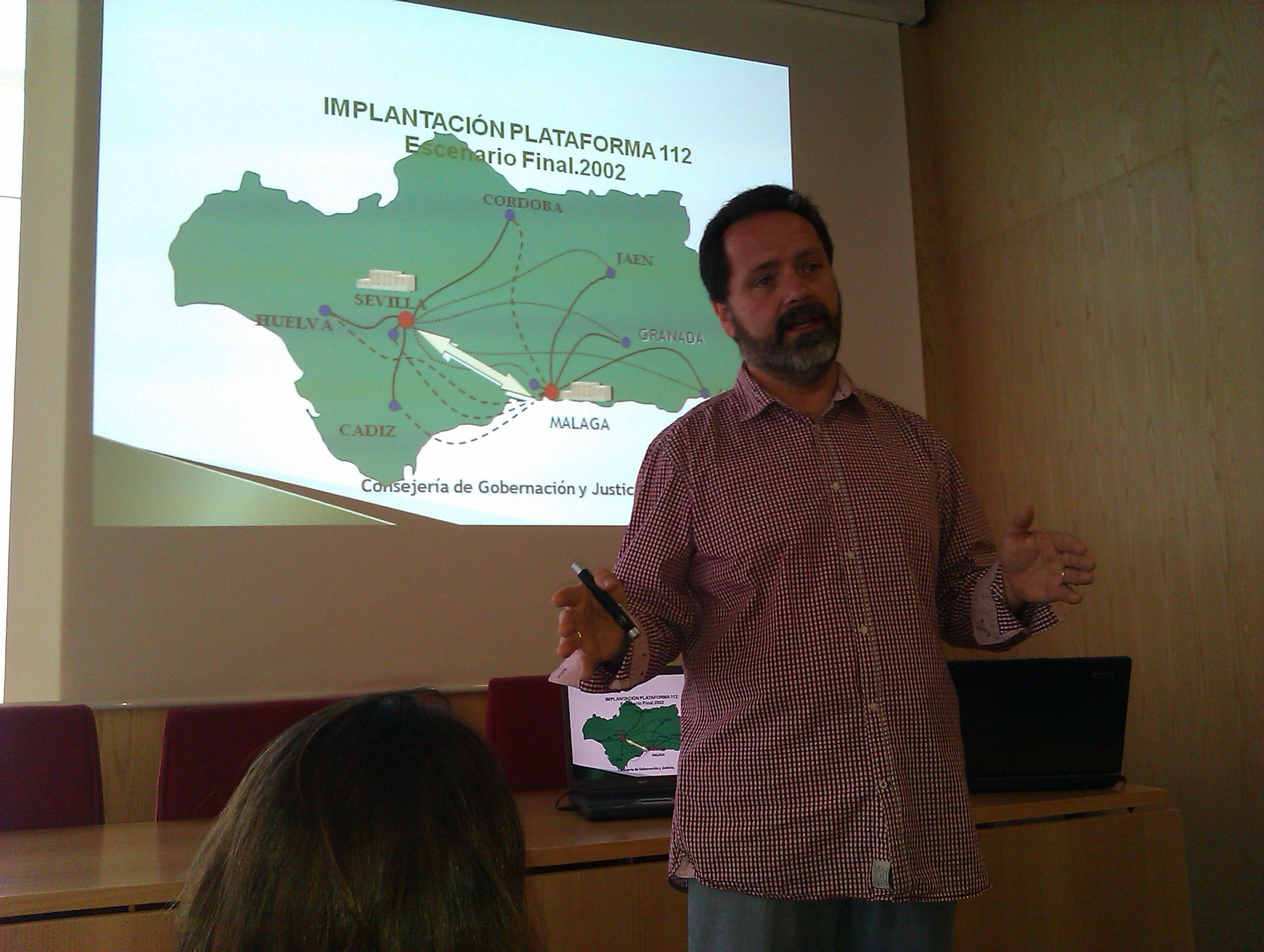 Óscar Burgos Técnico Operaciones en Emergencias