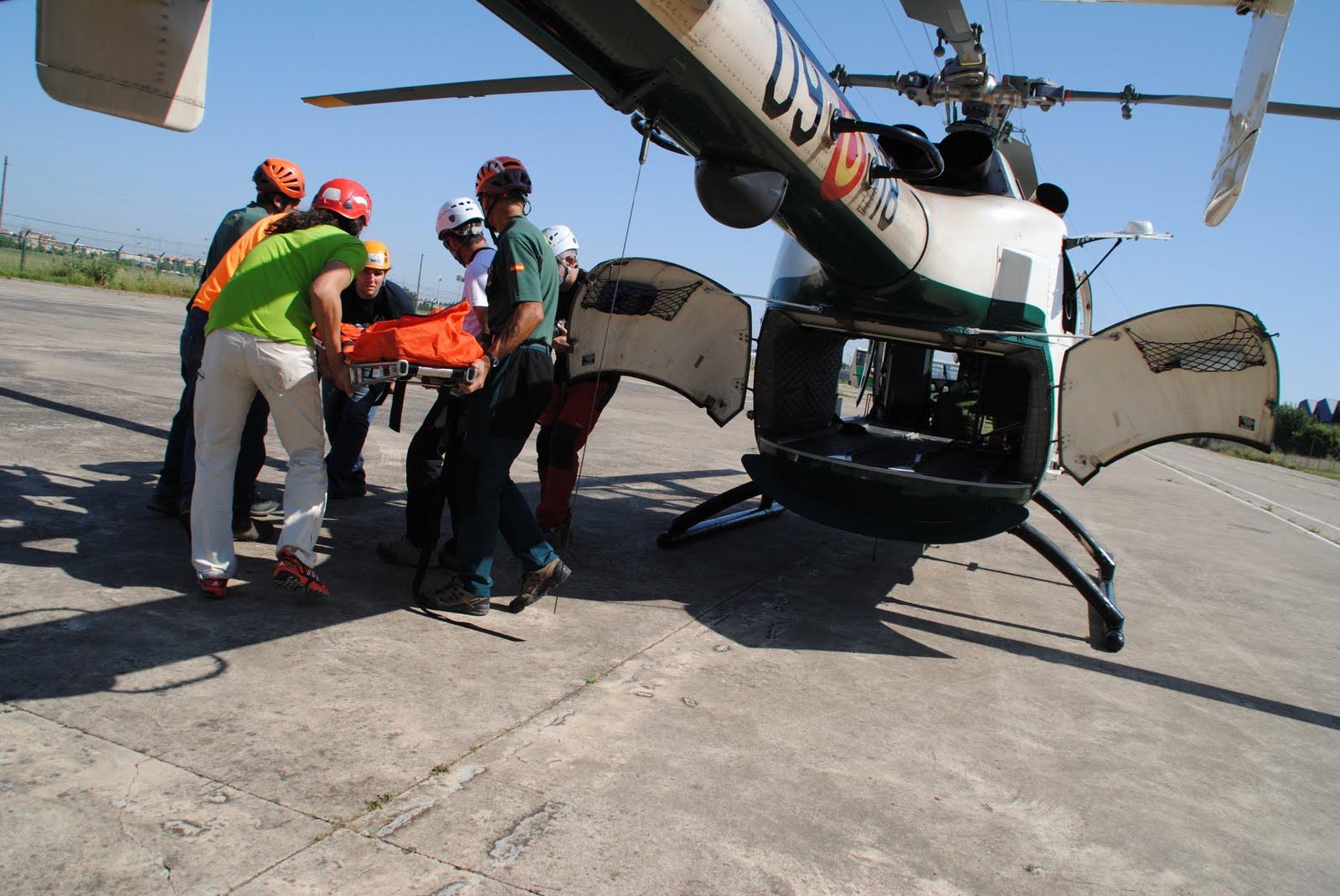 Práctica helicóptero