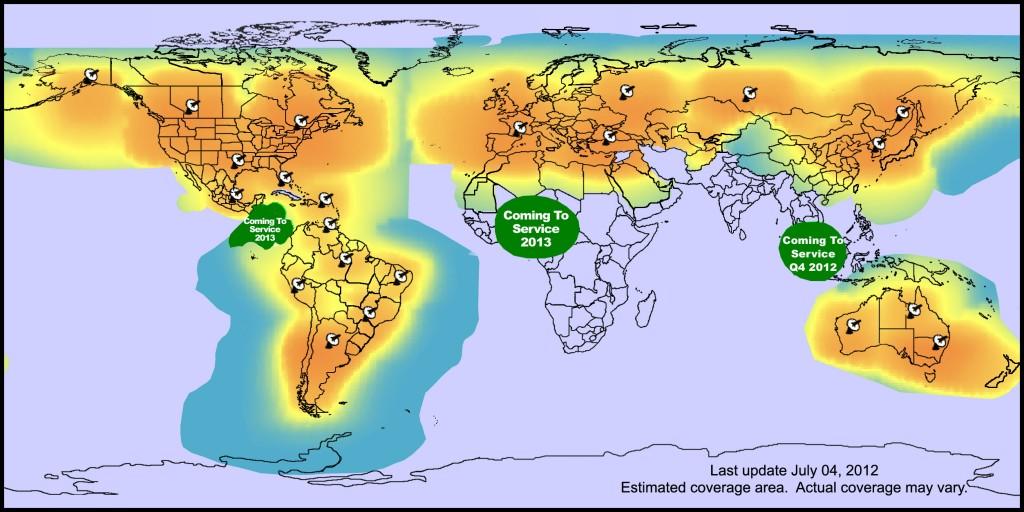 Mapa covertura 2012