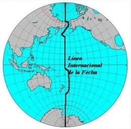 Línea internacional de cambio de fecha