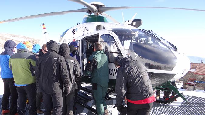 Montañero Horizontal Helicóptero UHEL 24