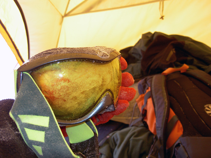 Lago Gran Esclavo gafas de ventisca
