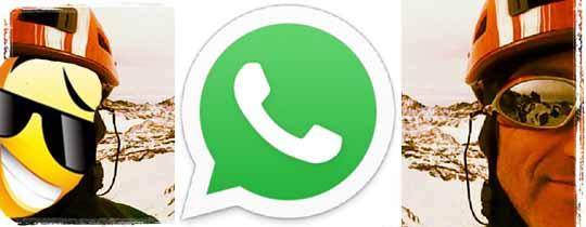 Rescate por WhatsApp
