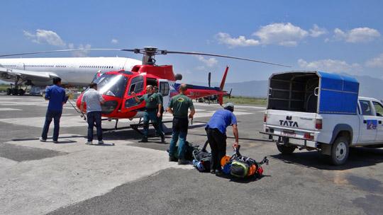 Aeropuerto Katmandú